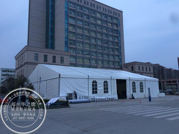 郑州欧式篷房出租  郑州20米跨度大棚租赁图片